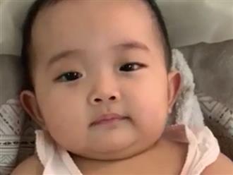 Phan Hiển khoe clip con gái 7 tháng tuổi cực yêu