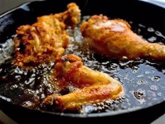 Sai lầm phổ biến của người Việt khi nấu ăn khiến cả nhà dễ mắc bệnh ung thư