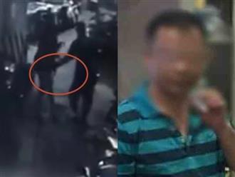 Clip gã đàn ông sàm sỡ, tát phụ nữ dưới hầm để xe chung cư ở Hà Nội