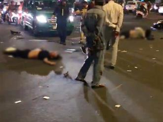 Clip hiện trường tai nạn kinh hoàng ở ngã tư Hàng Xanh: Người thương vong nằm la liệt giữa đường