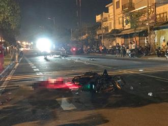 TP.HCM: Hai xe máy tông nhau khiến 3 người thương vong trong đêm 20/10