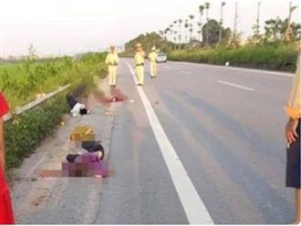 Vụ chồng nguy kịch, vợ và 2 con chết thảm ở Hà Nội: Chồng uống rượu tự gây tai nạn