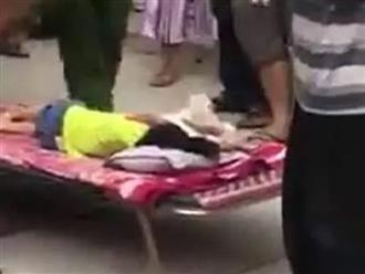 Cha mẹ gào khóc bên thi thể con gái 3 tuổi bị xe đưa đón của trường mầm non tông chết