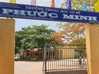 Tạm giữ thầy giáo nhiều lần dâm ô 4 nam sinh trong phòng thí nghiệm ở Tây Ninh