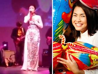 Clip khoe giọng hát hiếm hoi của Tăng Thanh Hà bỗng được chia sẻ rầm rộ