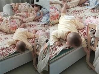 Thuê người giúp việc để trông con, mẹ đi làm về phát hiện cảnh tượng nhìn muốn 'lên máu'
