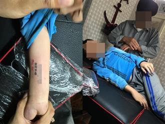 Ông đưa cháu trai 8 tuổi đi xăm hình lên tay, nghe xong lý do ai cũng rơi nước mắt cảm động