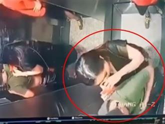 Clip người đàn ông tiểu bậy trong thang máy ở TP.HCM khiến dân mạng bức xúc