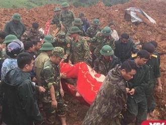 Tin mới nhất vụ sạt lở ở Sư đoàn 337: Đã tìm thấy những thi thể đầu tiên