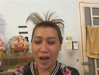 Bắt chước gái Hàn cuốn lô tóc mái thưa, cô gái nhận cái kết cười bể bụng