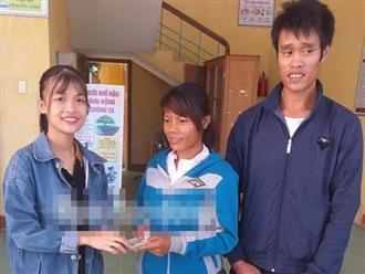 Nhặt được 22 triệu đồng và 1 chỉ vàng, cô gái trẻ trả lại cho đôi vợ chồng nghèo