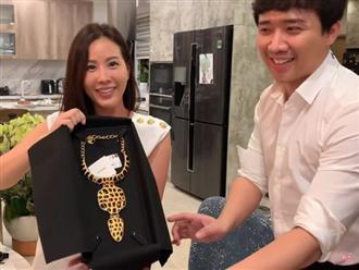 Hari Won ghen tỵ vì chồng tặng sinh nhật hoa hậu Thu Hoài vòng cổ 73 triệu, Trấn Thành liền buông lời phũ phàng