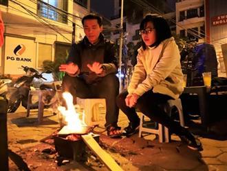 Trời rét dưới 10 độ C, đốt lửa sưởi ấm ngoài đường phố Hà Nội sẽ bị phạt bao nhiêu tiền?