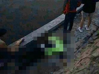 Đôi nam nữ cãi vã rồi nhảy xuống hồ điều hòa, cô gái trẻ sinh năm 1997 tử vong