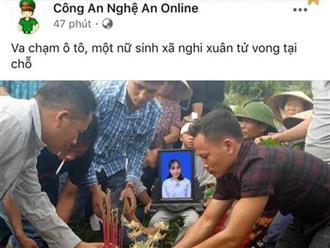 Ngủ dậy, thiếu nữ hết hồn thấy Facebook đăng tin mình đã chết vì tai nạn giao thông