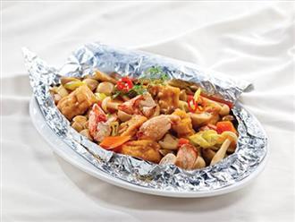 Video: Cách làm đậu hũ hải sản nướng giấy bạc ngon ngất ngây