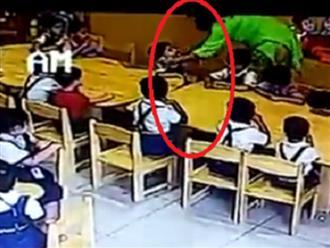 Video cô giáo dùng băng dính dán miệng học sinh gây phẫn nộ