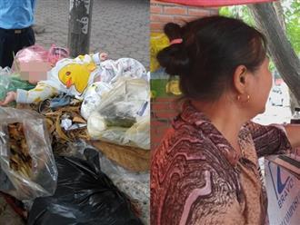 Người phụ nữ cứu bé trai 5 tháng bị vứt trong thùng rác: 'Tôi rùng mình khi thấy chân tay bé giãy giụa'