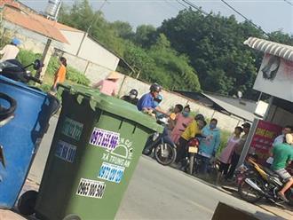 Vụ phát hiện thi thể bé sơ sinh trong thùng rác ở Sài Gòn: Công an mời người mẹ lên làm việc