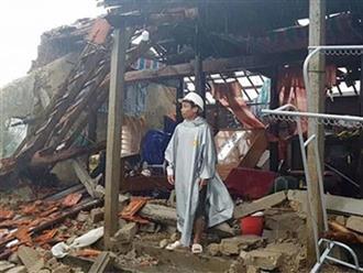 Xót xa hình ảnh nhà cửa đổ nát tan hoang sau bão số 9 ở miền Trung