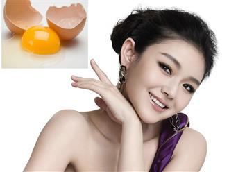 15 công thức làm đẹp khó tin của trứng gà