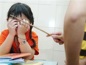 3 hậu quả khôn lường khi dùng đòn roi để dạy con mà cha mẹ chẳng thể ngờ tới
