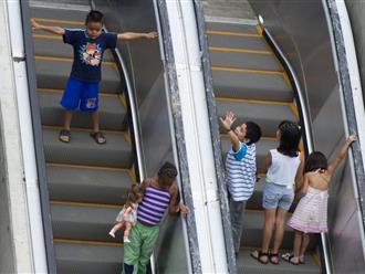 4 vị trí dễ xảy ra tai nạn trong siêu thị, cha mẹ phải thật lưu ý khi cho con đi sắm Tết cùng