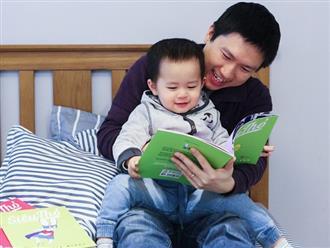 5 lợi ích tuyệt vời khi cha mẹ đọc sách cùng con mỗi ngày