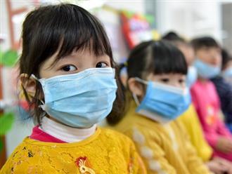 6 việc cần làm khi trẻ ho, sốt, khó thở tại trường học