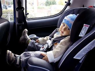 6 yếu tố cần thiết trên xe hơi khi gia đình có trẻ nhỏ