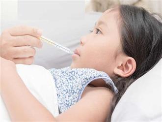 7 điều không nên làm khi trẻ bị sốt và cách xử lý nhanh