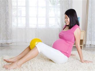 8 bài tập giúp mẹ bầu thư giãn và khỏe hơn trong suốt thai kì