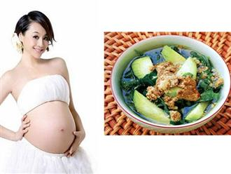 Bà bầu ăn canh cua được không, có ảnh hưởng tới thai nhi không?