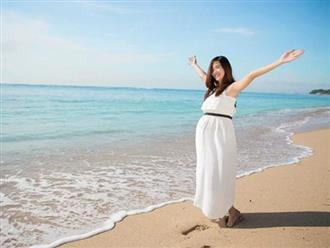 Bà bầu có nên đi du lịch không? 10 điều lưu ý khi bà bầu đi du lịch ngày hè