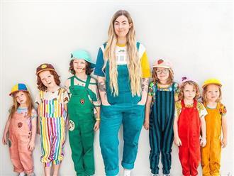 Bà mẹ khoe ảnh chụp 6 đứa con vô cùng đáng yêu nhưng có 1 chi tiết khiến người xem đặc biệt chú ý