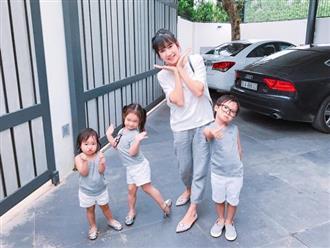 Bà xã Lý Hải chia sẻ 2 nguyên tắc mà mọi bà mẹ phải nhớ khi nuôi dạy con