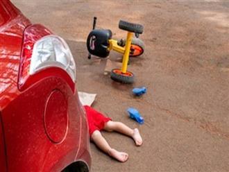 Bé 2 tuổi tử vong ở bãi đậu xe - lời cảnh tỉnh dành cho các cha mẹ không rời mắt khỏi con mình dù chỉ 1 giây