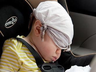 Bé gái 3 tuần tuổi bỗng dưng ngưng thở trên xe ô tô vì 1 sai lầm triệu gia đình cùng mắc