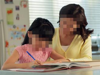 Bé gái 8 tuổi vỡ mạch máu não rồi qua đời sau khi bị mẹ đánh vào gáy vì giải sai bài tập