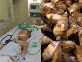 Bé trai 2 tuổi phải sống thực vật sau khi ăn ốc, khiến cả gia đình ôm hận