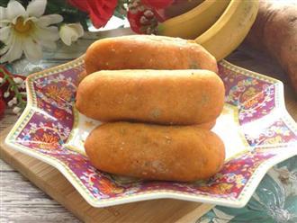 Cách làm bánh khoai lang cho bé ngon như ngoài hàng, con ăn mãi không chán