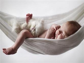 Cho trẻ sơ sinh nằm võng được không?