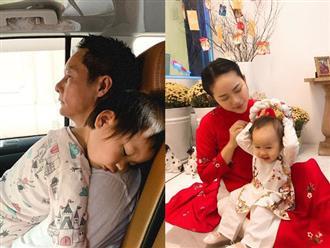 """Con gái """"khủng hoảng tuổi lên 3"""", ông xã đại gia của Phan Như Thảo bực bội la mắng, phản ứng của cô bé khiến anh phải giật mình"""