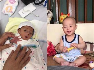 """Con sinh non bé như """"cái kẹo"""" bị viêm ruột, cách ly 6 ngày mẹ lại nghe thêm tin dữ"""