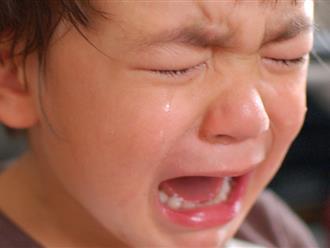 Dấu hiệu cho thấy cơn giận dỗi, ăn vạ của trẻ đến mức báo động