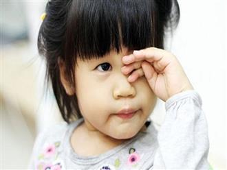 Đau mắt đỏ ở trẻ được chẩn đoán qua những dấu hiệu triệu chứng nào?