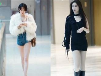 Hàng loạt mỹ nữ chân dài eo thon rủ nhau xuống phố catwalk cực mướt mắt, điểm nhấn vẫn là gương mặt xinh như tiên nữ