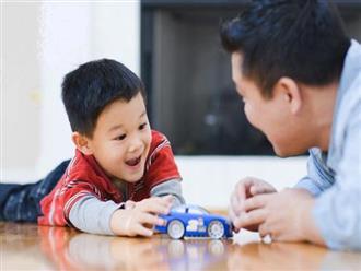 Khoa học chứng minh: Trẻ thường được bố quan tâm, chơi cùng sẽ thông minh, đạt chỉ số IQ vượt trội hơn