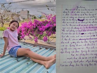 """Không nhịn được cười với bức thư """"muốn nói vài lời"""" viết lúc 11 giờ đêm của con gái, bố mẹ đọc xong thì giật mình thon thót"""