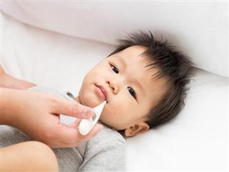 Làm gì khi trẻ bị sốt: Cha mẹ có con nhỏ nên biết sớm những phương pháp làm mát vật lý này